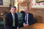 Discussing NWRR with Transport Secretary Chris Grayling